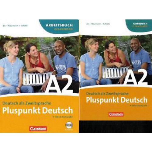 Cornelsen Verlag Pluspunkt Deutsch, Neue Ausgabe: Kursbuch + Arbeitsbuch, m. Audio-CD, 2 Tle. jetztbilligerkaufen