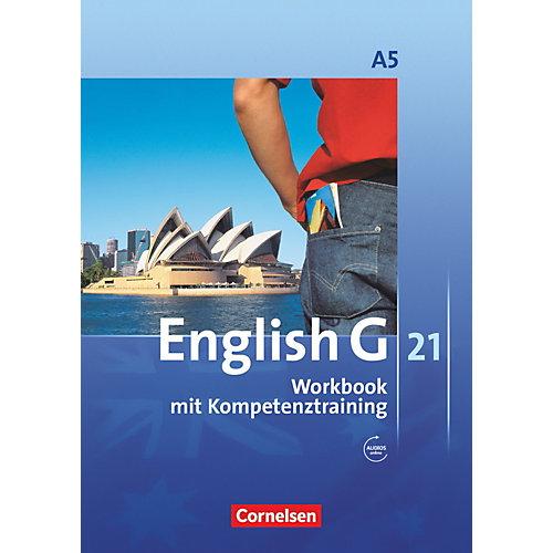 Cornelsen Verlag English G 21, Ausgabe A: 9. Schuljahr, Workbook m. Audio-CD jetztbilligerkaufen