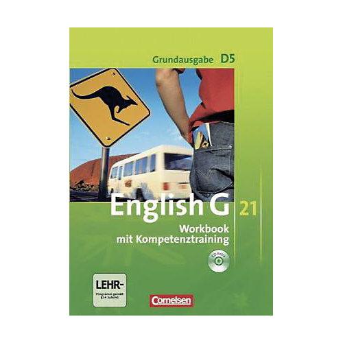 Cornelsen Verlag English G 21, Ausgabe D: 9. Schuljahr, Workbook m. Audio-CD, Grundausgabe jetztbilligerkaufen
