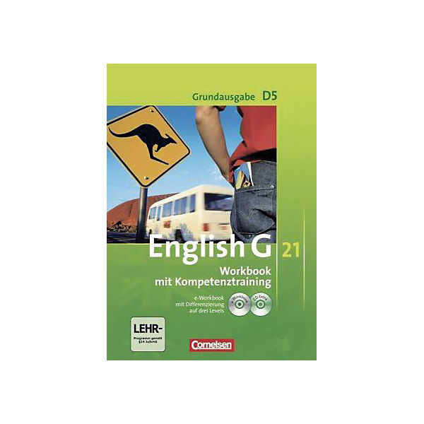 English G 21, Ausgabe D: 9. Schuljahr, Workbook m. CD-ROM (e-Workbook) u. Audio-CD, Grundausgabe