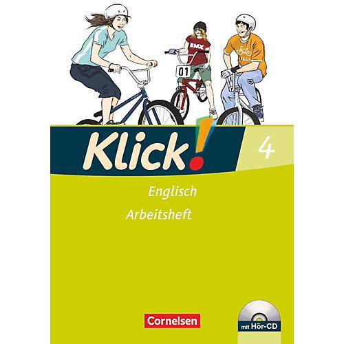 Cornelsen Verlag Klick! Englisch: 8. Schuljahr, Arbeitsheft m. Audio-CD jetztbilligerkaufen
