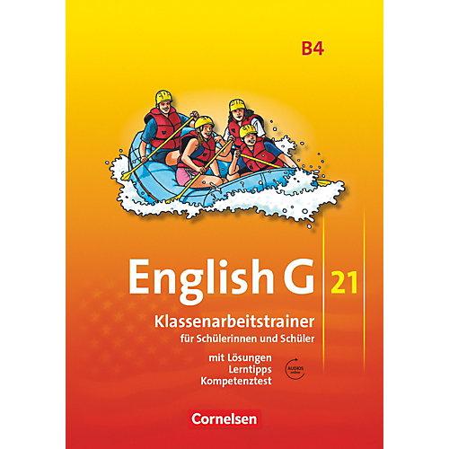 Cornelsen Verlag English G 21, Ausgabe B: 8. Schuljahr, Klassenarbeitstrainer m. Audio-CD jetztbilligerkaufen