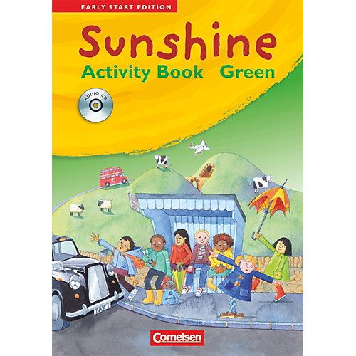 Cornelsen Verlag Sunshine - Early Start Edition: 1./2. Schuljahr, Activity Book Green, JÜL-Ausgabe, m. Audio-CD jetztbilligerkaufen