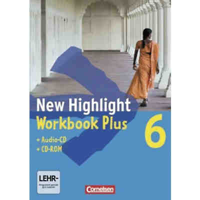 New Highlight, Hauptschule: 10. Schuljahr, Workbook Plus m. Audio-CD u. CD-ROM