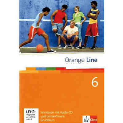 Orange Line: Klasse 10, Workbook m. Audio-CD u. CD-ROM, Grundkurs