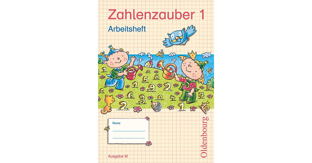 Zahlenzauber, Ausgabe M: 1. Schuljahr, Arbeitsheft