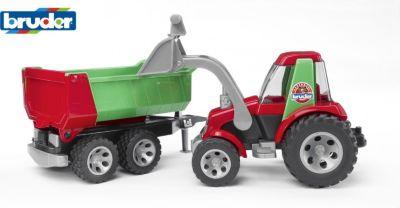 Fahrzeuge Kleinkindspielzeug Bruder 20050 ROADMAX Schaufelbagger