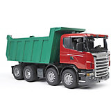 Машинка Bruder Самосвал Scania