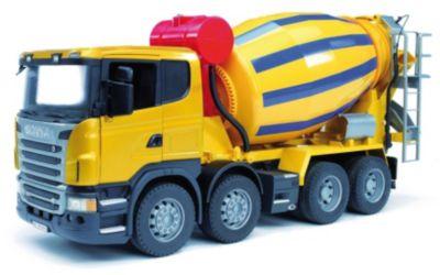 BRUDER 03554 Scania Betonmisch-LKW