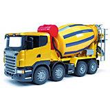 Машинка Bruder Бетономешалка Scania