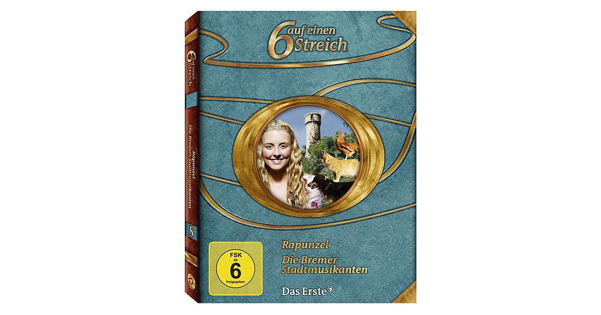 DVD Märchenbox - Sechs auf Einen Streich Vol. 5 Hörbuch