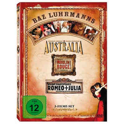 DVD Australia / Moulin Rouge / Romeo & Julia (3 DVDs)