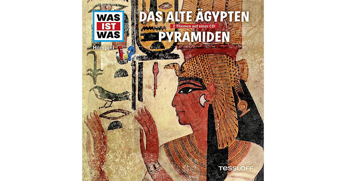 CD Was ist Was 40 alte Ägypten/Pyramiden Hörbuch