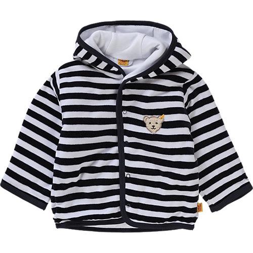 Steiff Baby Fleecejacke wattiert Gr. 80 Jungen Baby   04048043085277