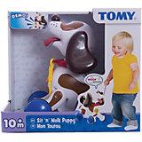 """Развивающая игрушка-каталка """"Щенок"""", TOMY"""