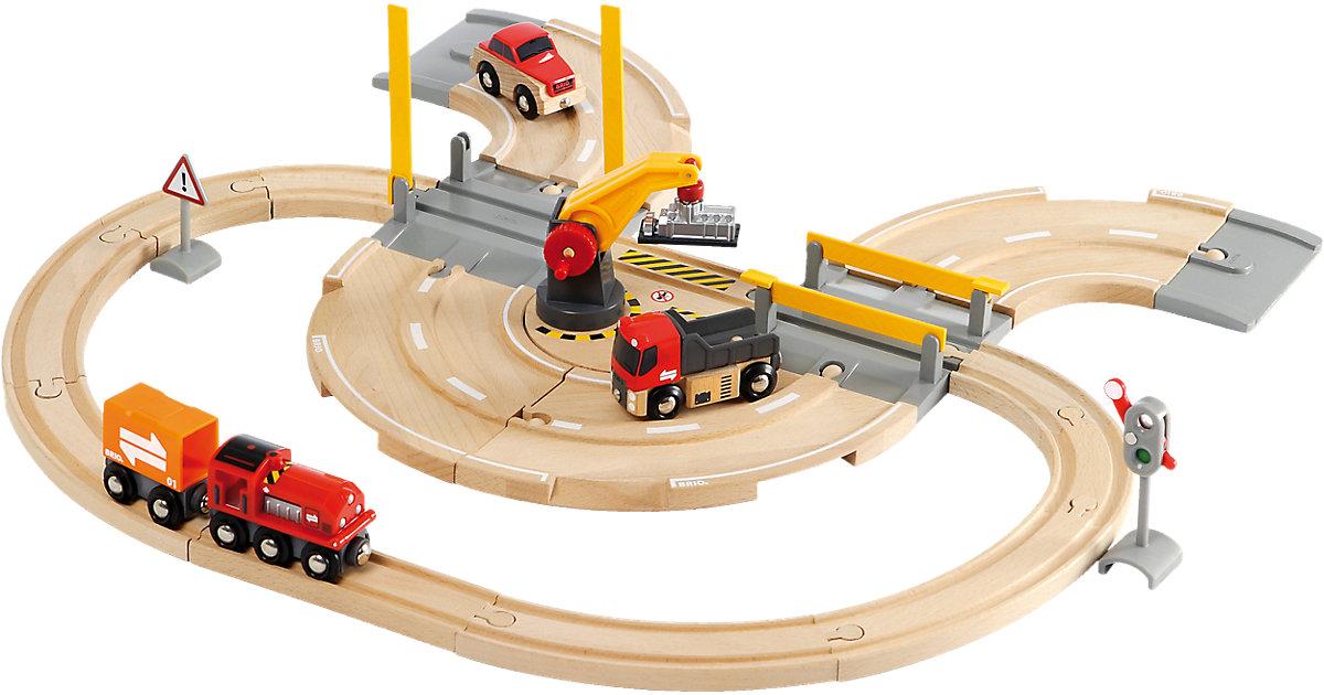 Brio · Straßen & Schienen - Kran Set