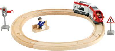Железная дорога BRIO со светофором, 15 элементов