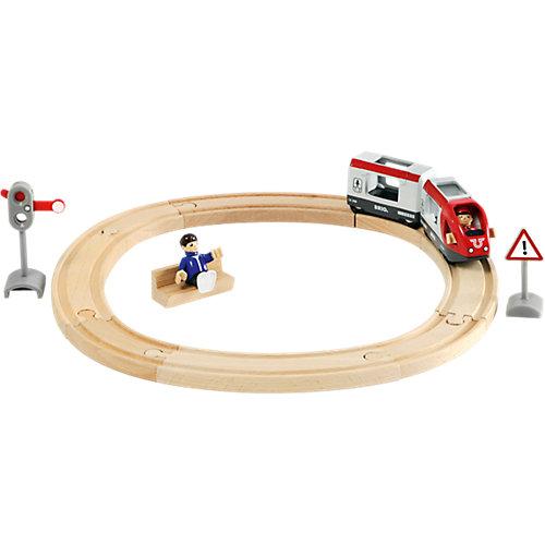 Железная дорога BRIO со светофором, 15 элементов от BRIO