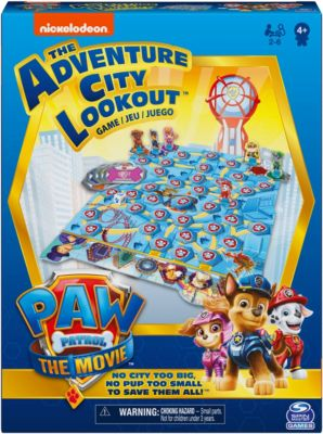 PAW Patrol Movie - Adventure City Lookout Game, PAW Patrol