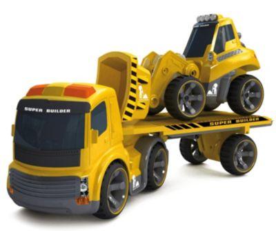 Silverlit RC - Truck IR Bagger und Sattelzug