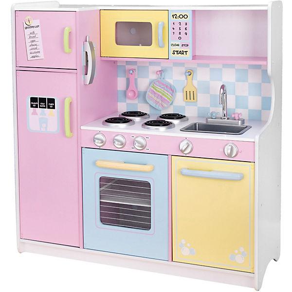 Spielküche pastell aus holz kidkraft