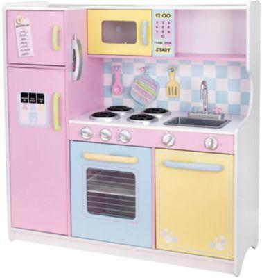 Spielküche Pastell Aus Holz