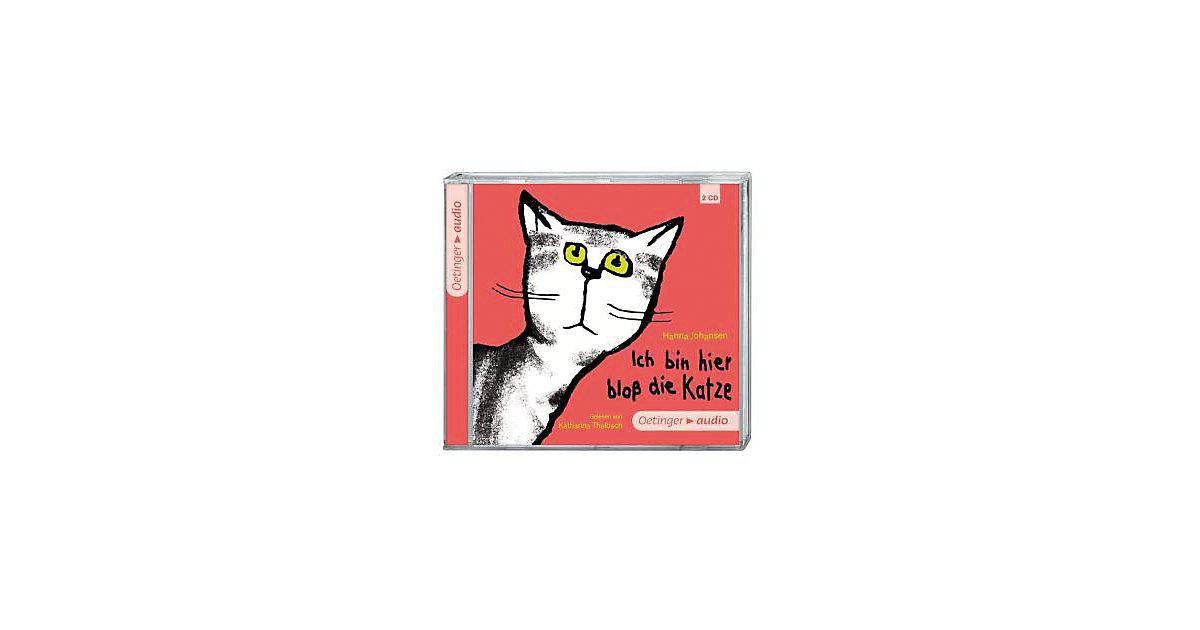 Ich bin hier bloß die Katze, 2 Audio-CDs