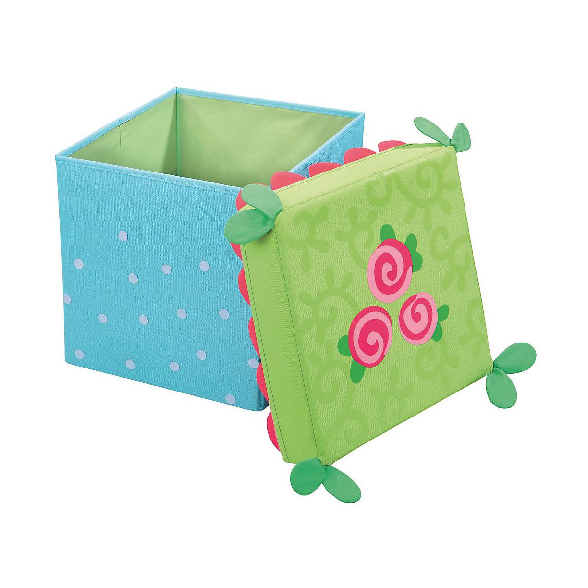 sitzw rfel aufbewahrungsbox rosenfee haba mytoys. Black Bedroom Furniture Sets. Home Design Ideas