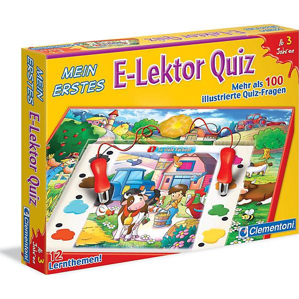 Mein erstes E-Lektor Quiz, Clementoni