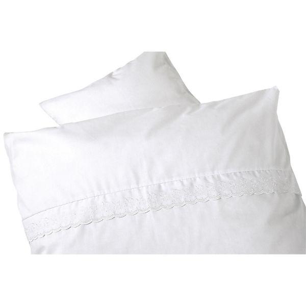 Babybettwäsche Teddy Romantik Renforcé Weiß 80 X 80 Cm Alvi