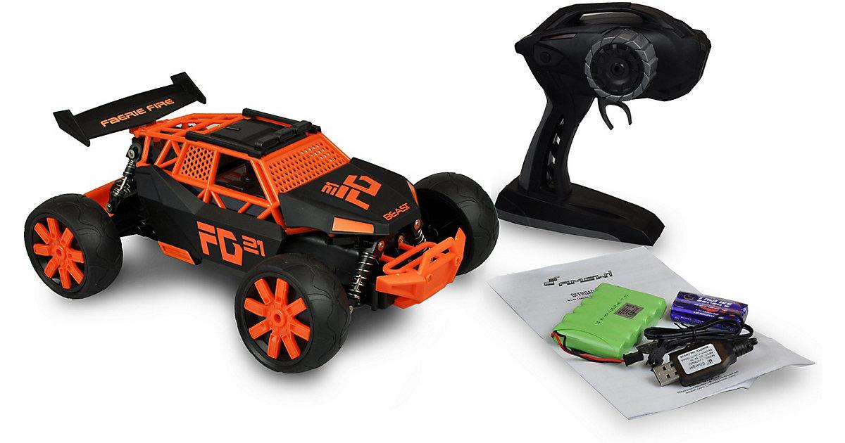Sandbuggy Beast 1:12 RTR 2,4GHz, 2WD, orange/schwarz