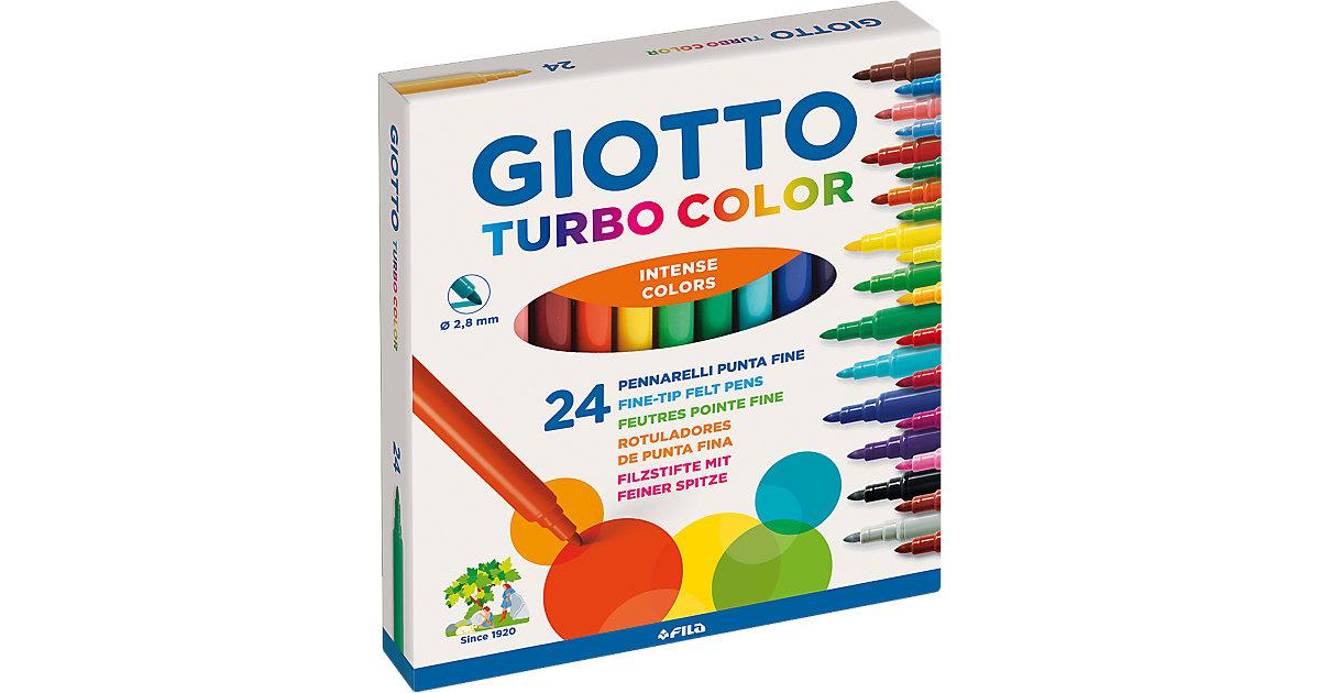 GIOTTO Turbocolor Filzstifte, 24 Farben