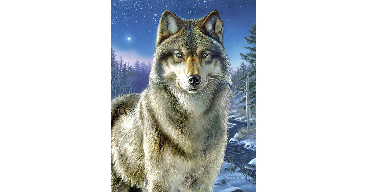 Malen nach Zahlen Artists Collection ab 8 Wolf