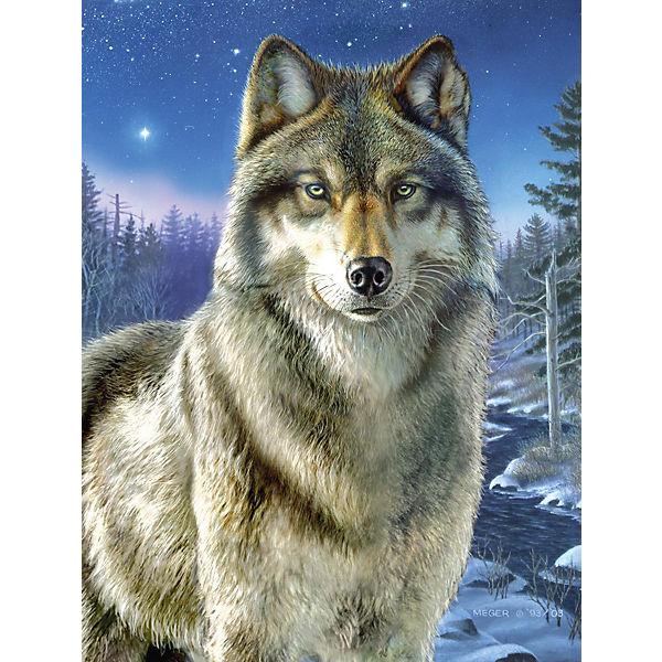 Malen Nach Zahlen Artists Collection Ab 8 Wolf Mammut Spiel Und