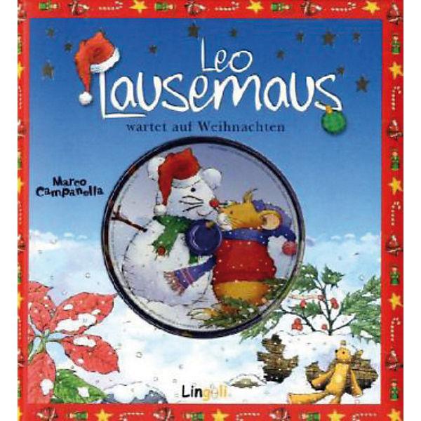 Cd Weihnachten.Leo Lausemaus Wartet Auf Weihnachten Mit Audio Cd Leo Lausemaus