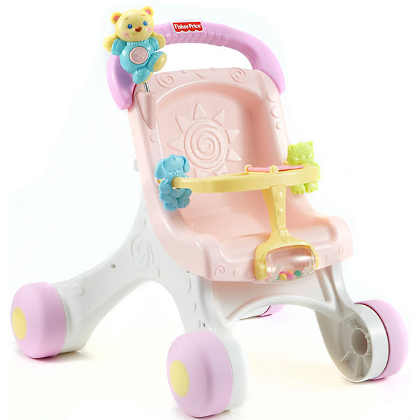 Fisher-Price - Lauflern-& Puppenwagen
