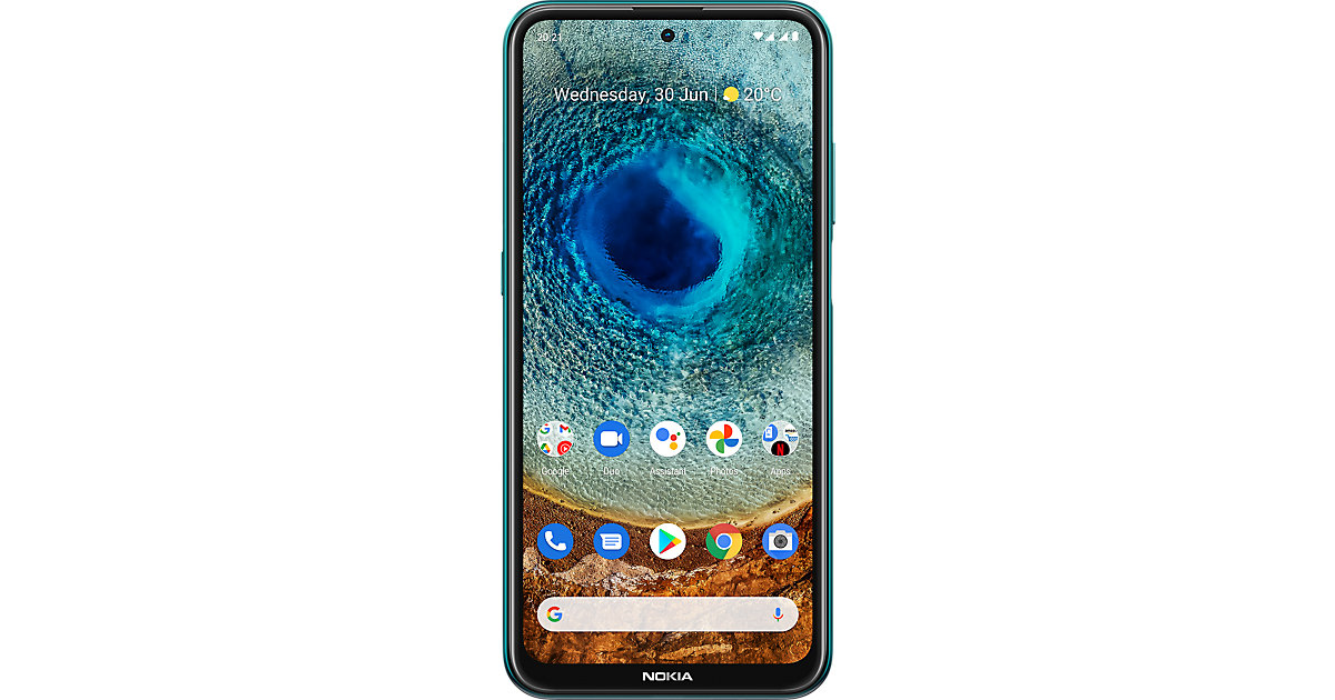 Nokia X10, 128 GB, Dual SIM, Forest grün