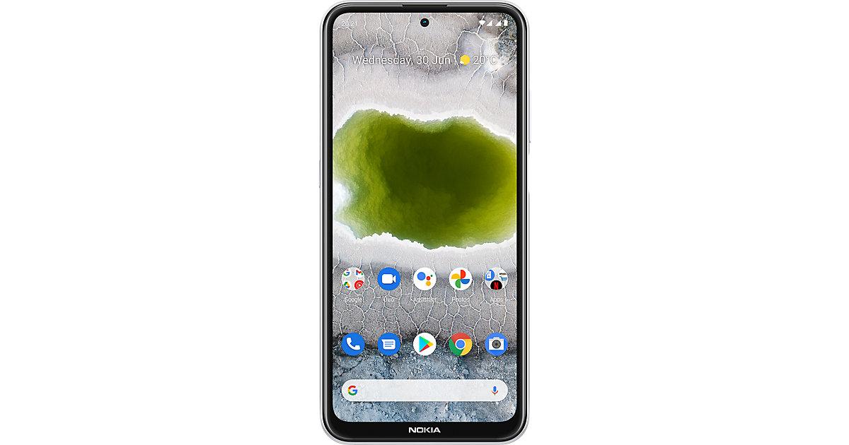 Nokia X10, 128GB, Dual SIM, Snow weiß