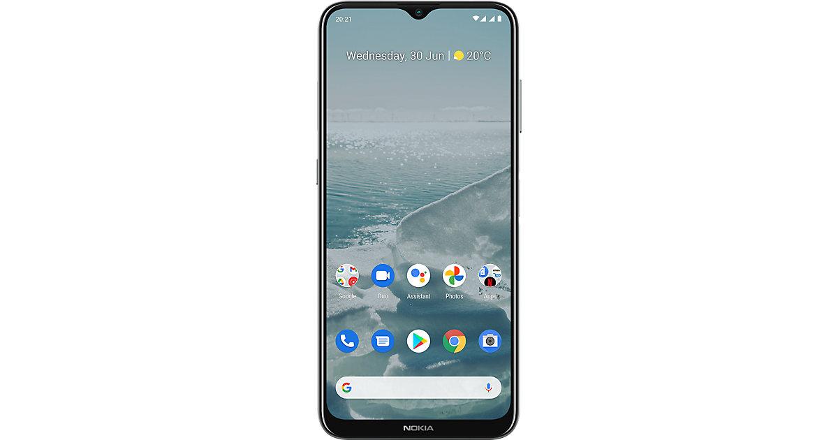 Nokia G20, 64GB, Dual SIM, Glacier weiß
