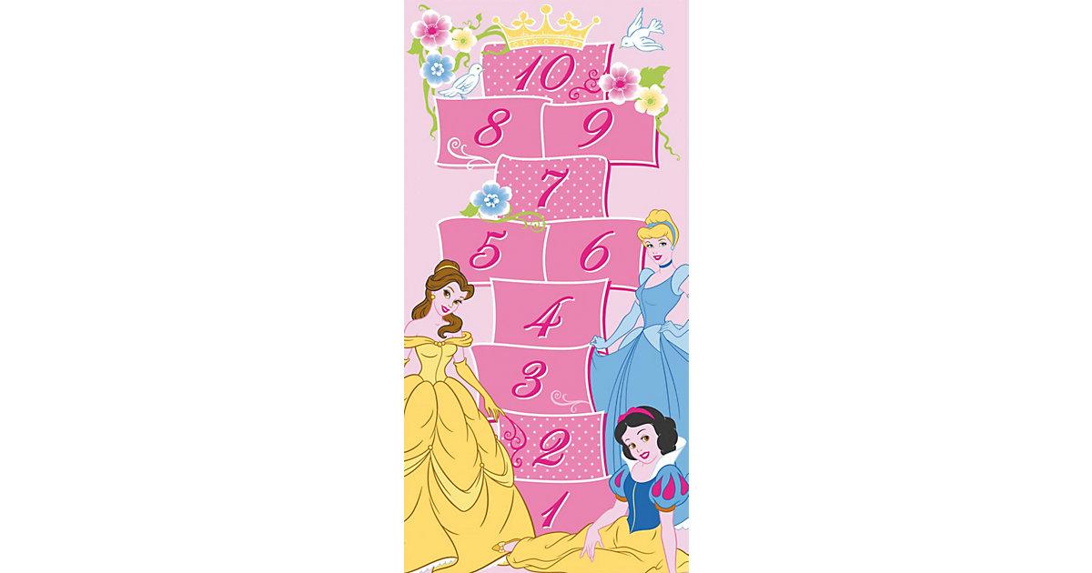 Kinderteppich Disney Princess Hopscotch, 80 x 160 cm, rosa