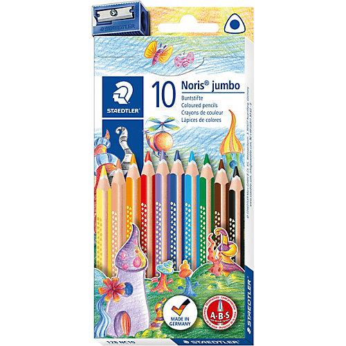 Цветные карандаши NorisClub, 10 цв. от Staedtler