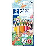 Карандаш цветной Noris Club набор 24 цвета