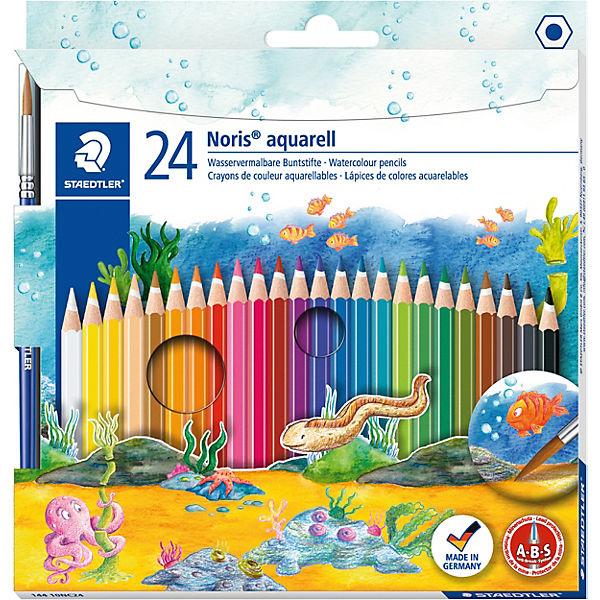 Акварельные карандаши Noris Club, 24 цв.