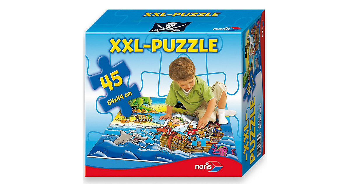 Bodenpuzzle Piraten - 45 Teile
