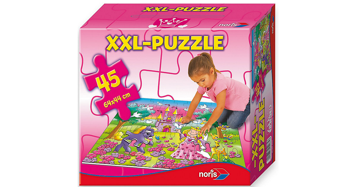 Bodenpuzzle 45 Teile Prinzessin