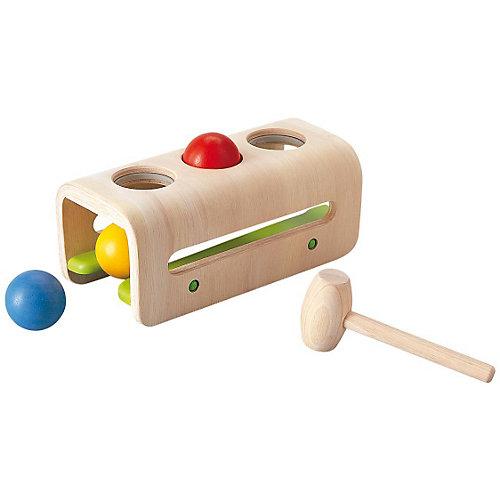 PLAN TOYS 5348 Доска с молоточком и шариками от Plan Toys