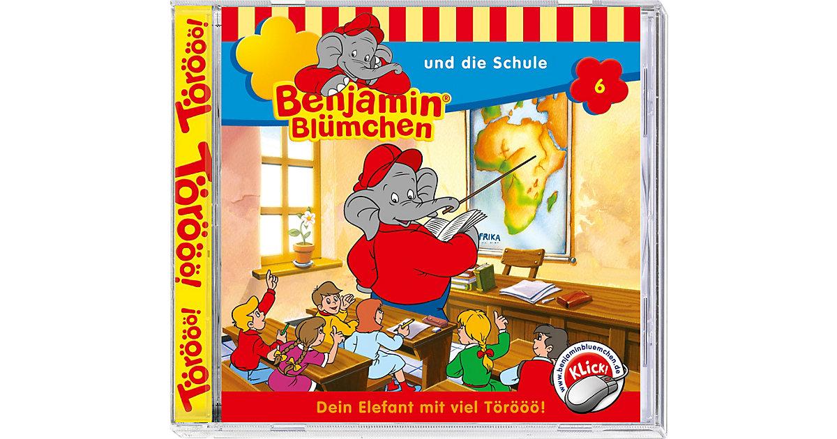 CD Benjamin Blümchen 06 - und die Schule Hörbuch