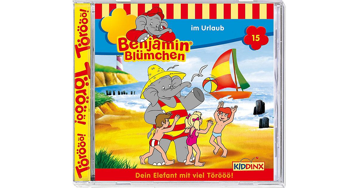 CD Benjamin Blümchen 15 - im Urlaub Hörbuch