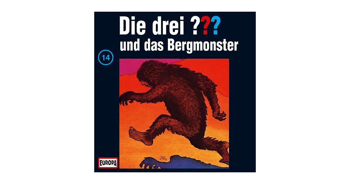 CD Die Drei ??? 014/und das Bergmonster Hörbuch