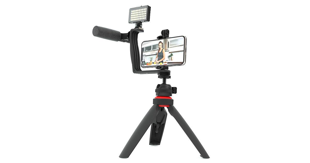 DIGIPOWER SUPERSTAR 5-teiliges Vlogging Set schwarz